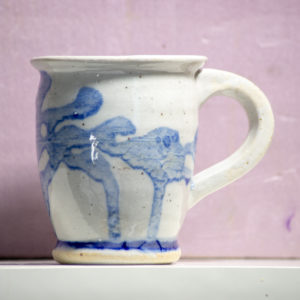 Blue Figured Mug