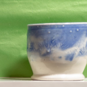 Blue Rushes Vase