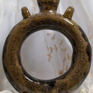 Ring Flask with squared feet