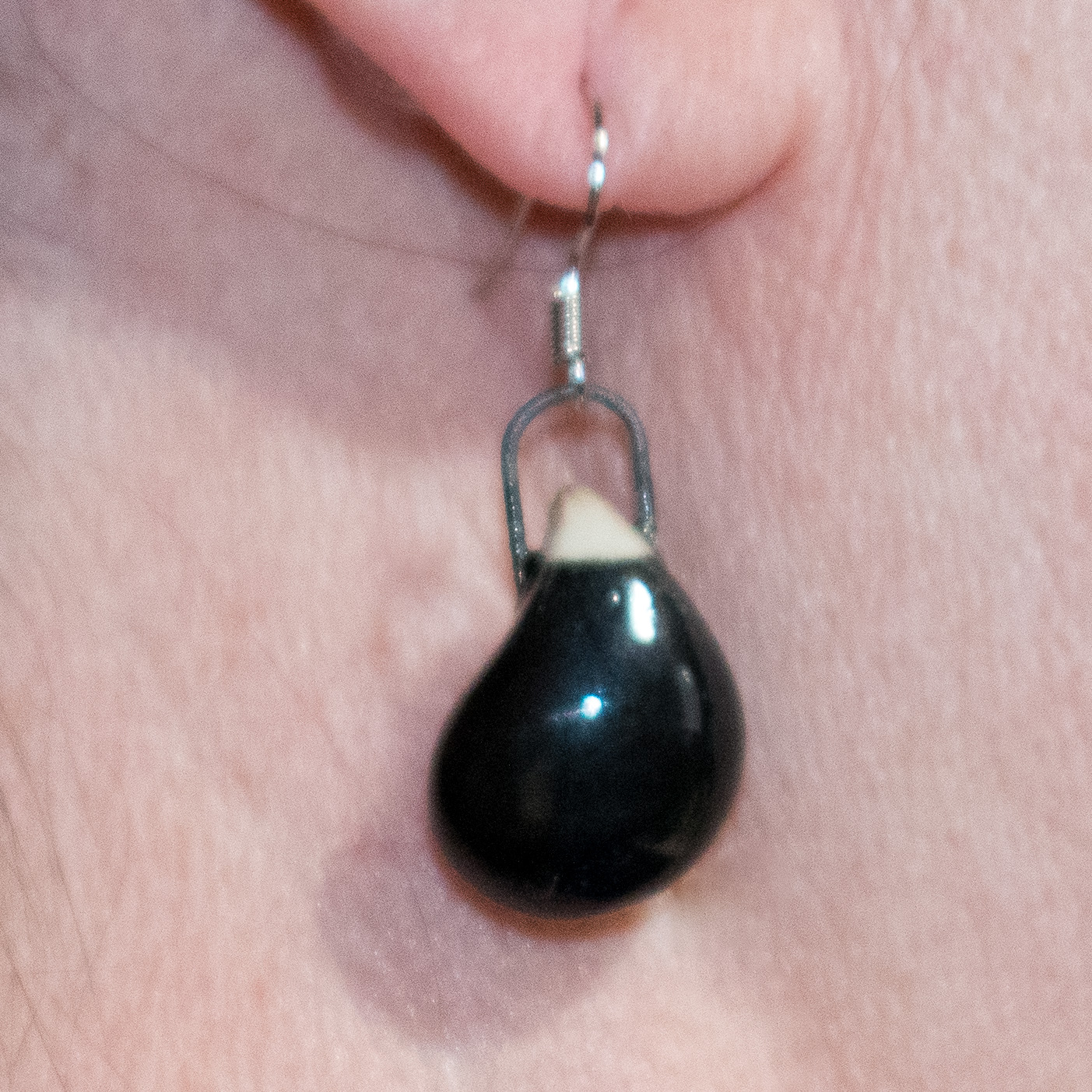 Deep Teardrop Earrings