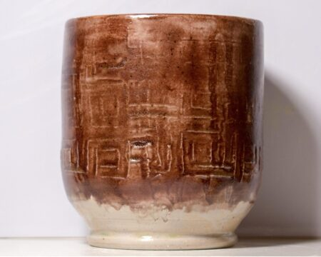 Greek Key Vase