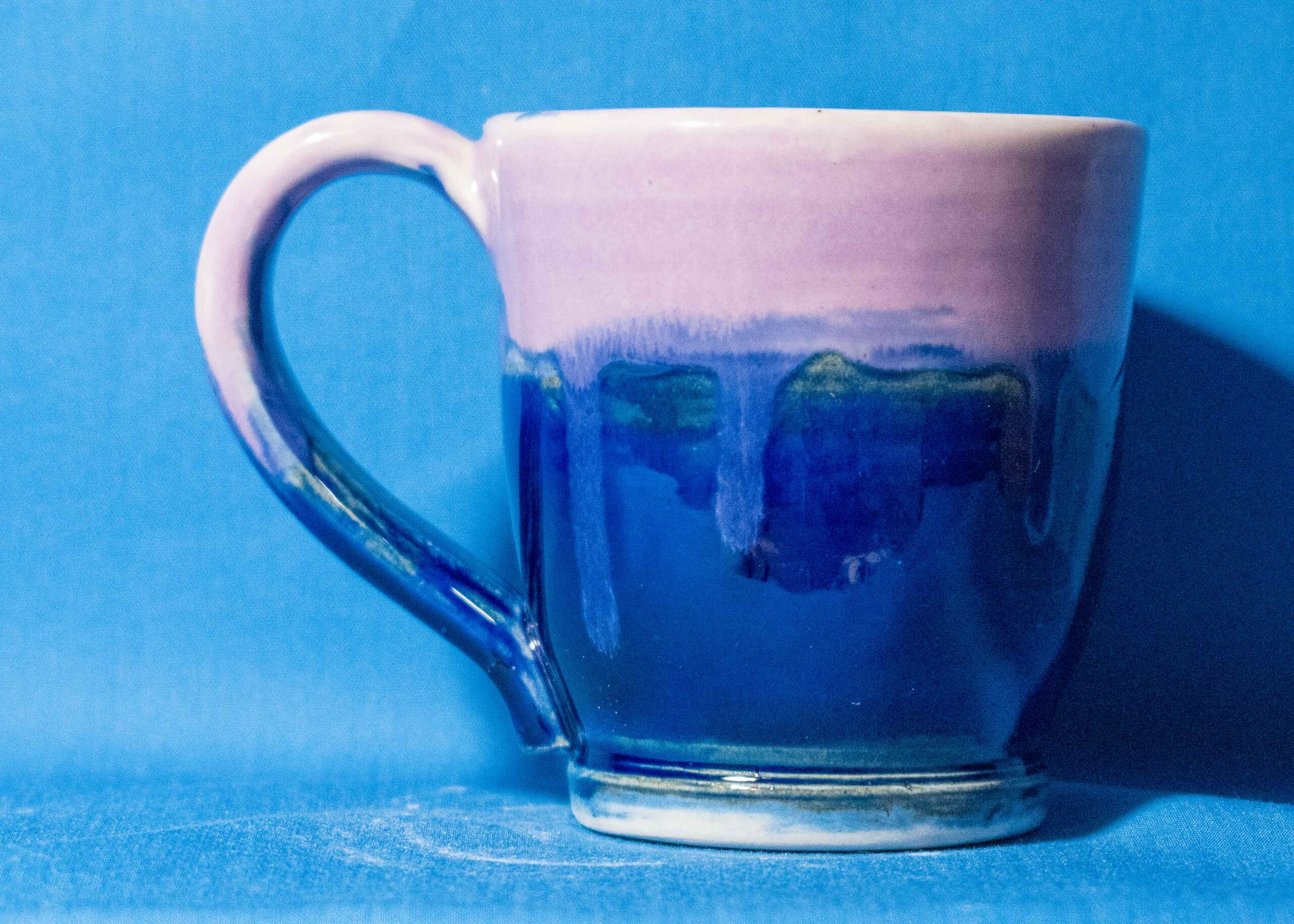 Blue and Purple Mug