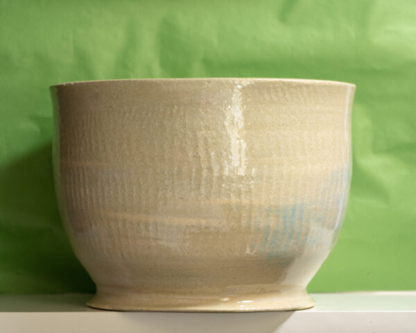 Tall Chattered Bowl