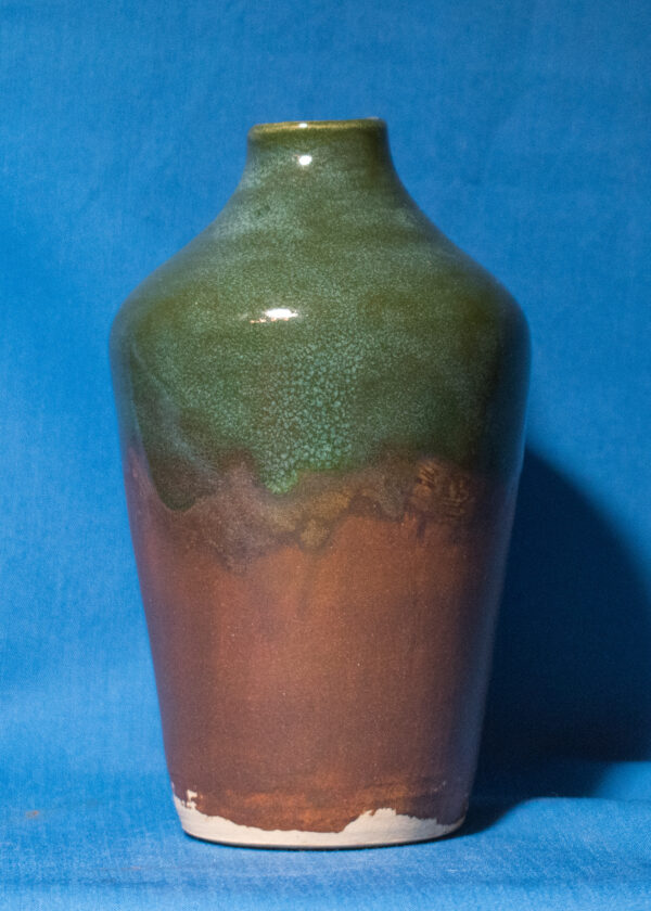 Green-and-Tan-Bottle-with-Internal-Threads